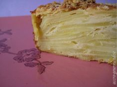 Gâteau Invisible de Pommes de Terre : Recette Plume Vanilla Cake, Cheesecake, Veggies, Desserts, Weigh Watchers, Food, Vegetarian Cooking, Cooking Recipes, Drinks