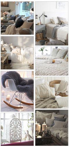 chambre cocooning blanche ikea d co cocooning pinterest d co chalets et d coration. Black Bedroom Furniture Sets. Home Design Ideas
