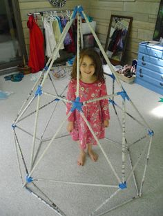 making a kid sized geometric structure