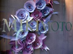 Mikimoto Window Display Spring 2012 by JM Visuals, New York visual merchandising