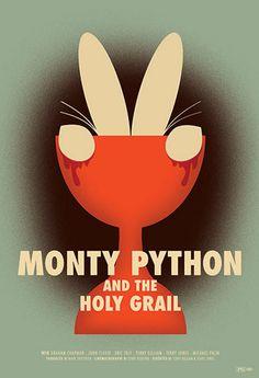 Monty Pythons y los caballeros de la mesa cuadrada