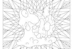 Free printable Pokemon coloring page-Magcargo. Visit our page for more coloring! Coloring fun for all ages, adults and children Pokemon Coloring Pages, Coloring Book Pages, Printable Coloring Pages, Papercraft Pokemon, Pokemon Craft, Pokemon Cross Stitch, Mandala Printable, Doodle Pages, Heart For Kids