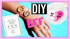 DIY BEST FRIENDS BFF / Idées Cadeaux Meilleures Amies