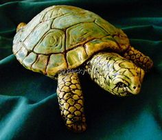 awesome sculpted turtle