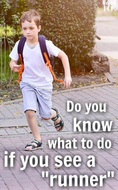A child bolts away from its parent in a crowded place -- what would YOU do?? Here's what one mom wants you to know about autism and wandering.
