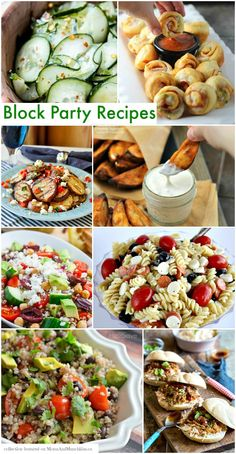 Block Party Recipes #BlockParty