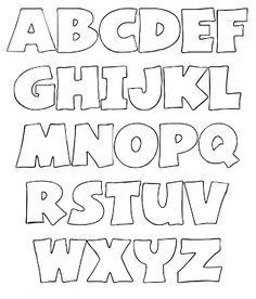 alfabet voor o.a. letters uit vilt Kijk voor vilt eens op http://www.bijviltenzo.nl