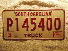 sc truck tag