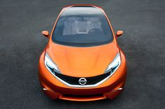 Nissan INVITATION Concept - The dynamic new concept bursting with technical innovation introduces the company's next generation mainstream B-segment contender.