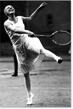 Antwerp 1920, Games of the VII Olympiad. Frenchwoman Suzanne LENGLEN, winner of the women's tennis single and mixed double events. Credit: IOC Olympic Museum Collections    The First Tennis Celebrity