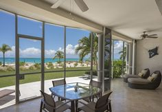 All suites offer ocean front screened in balconies
