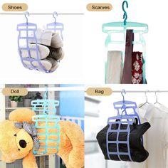 US$ 18.88 - Folding Drying Pillow Hanger - m.maicei.com Hanger, Dolls, Pillows, Baby Dolls, Clothes Hanger, Clothes Hangers, Puppet, The Hunger, Doll