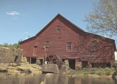 The Old Mill Town of Rex, GA | The Southerly - Estes family owned this mill at one time
