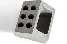 Concrete House Shaped Pen Holder Cell Phone Holder