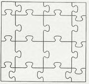 Large Blank Printable Puzzle Pieces This could be cool to