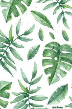 Green Spring wallpaper by Loïcia Itréma Frühling Wallpaper, Pattern Wallpaper, Wallpaper Backgrounds, Iphone Spring Wallpaper, Vintage Phone Wallpaper, Leaves Wallpaper Iphone, Trendy Wallpaper, Wallpaper Quotes, Cute Backgrounds