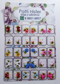 Manicures, Nails Inspiration, Nail Art, Cartoon, Flowers, Nail Stickers, Nice Nails, Nail Arts, Flower Nails