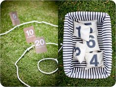 easy to make for people to play, outside wedding games.
