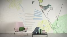 Senses by GLAMORA, experts in the art of bespoke #wall_coverings