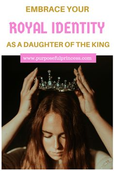 Embrace Your Royal Identity as a Daughter of the King - Purposeful Princess Daughters Of The King, Daughter Of God, King Of Kings, My King, Psalm 45, Purpose Quotes, Identity In Christ, Godly Woman, Great Words