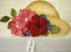 Hat card with tag