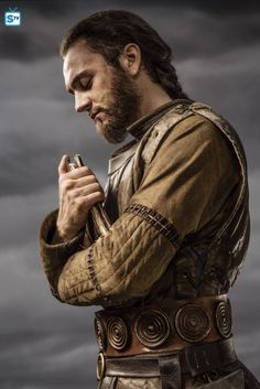 "Vikings George Blagden as ""Athelstan"" Athelstan Vikings, Ragnar Lothbrok, Vikings Tv Series, Vikings Tv Show, Viking Bracelet, Viking Jewelry, Lagertha, Anglo Saxon Kingdoms, Norse Legend"
