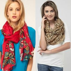 DRESS TRENDS | Women's scarves trends 2016 | http://dress-trends.com