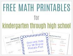 FreeMathPrintables
