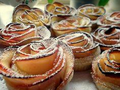 Róże z jabłek w cieście francuskim na Światowy Dzień Pieczenia | Szysia