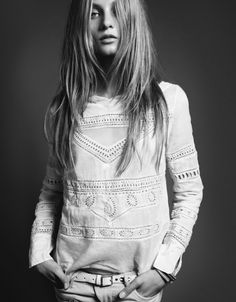 The Libertine Magazine.''Campaign' . Anna Selezneva By Marcus Ohlsson For Hunkydory. Spring 2013.7
