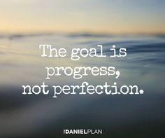 Gradual change over time is sustainable. Just put one foot in front of the other. There's plenty of grace while you are in the process. When you have a bad day, what matters is that you decide to get back on track and that you don't give up.