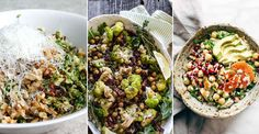 Whilst the cold weather tends to conjure up the desire for carbs and slow-cooked stews, such a change in diet isn't great news for our waistlines. If you're keen to keep it healthy, opt for a warm salad instead; these satisfying recipes are substantial enough to curb winter cravings,simply switch raw ingredients for cooked quinoa or roasted veg and enjoy the nutritional benefits of fresh food with a heartier feel.