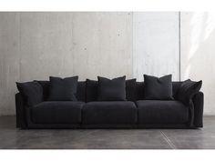 Montauk Sofa, Sofa Material, Types Of Sofas, Modular Sofa, Sofa Design, Contemporary Design, Love Seat, Branding Design, Throw Pillows