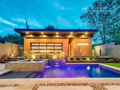 Riverbend Sandler Pools offers Geometric Pool Designs Dallas, Frisco and surrounding areas that homeowners can be proud of. Backyard Pool Landscaping, Backyard Pool Designs, Swimming Pools Backyard, Backyard Ideas, Small Pool Design, Pool Builders, Dream Pools, House Styles, Dallas