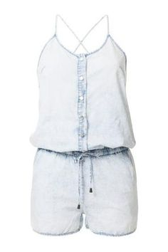 Dames jumpsuits - Coolcat Denim playsuit