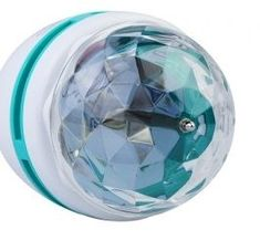Full Color LED Crystal Voice-activated Rotating Stage Light DJ Lamp Light Bulb Stage Lighting, review and buy in Cairo, Alexandria and rest of Egypt | Souq.com