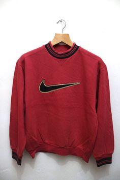 Vintage NIKE Streetwear Swag Hip Hop Sports Trainer Pullover Sweatshirt Sweater…