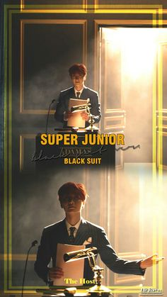 He wouldn't be Leetuek if he wasnt the host #blacksuit #superjunior