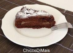 Torta cioccolato e pere ricetta dolce il chicco di mais http://blog.giallozafferano.it/ilchiccodimais/torta-cioccolato-e-pere-ricetta-dolce/