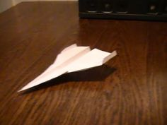 how to make a fast paper airplane Origami, Paper, Youtube, How To Make, Origami Art, Youtubers
