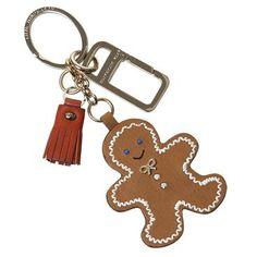 Anya Hindmarch gingerbread man keychain