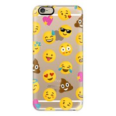 iPhone 6 Plus/6/5/5s/5c Case - Emoji Love Transparent Case - Nour... ($40) ❤ liked on Polyvore featuring accessories, tech accessories, phone cases, phone, cases, electronics, iphone cases, iphone case, transparent iphone case and apple iphone cases