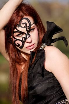 Hey, I found this really awesome Etsy listing at http://www.etsy.com/listing/62352869/half-mask-in-black-leather-whirly