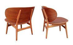 plastolux:    Hans Wegner shell chairs for Fritz Hansen