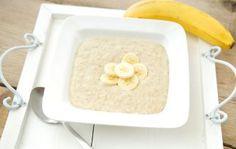 Havermoutpap met banaan – sportontbijt