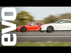 Nissan GT-R vs Porsche 911 GT3 RS - which is fastest? | evo DRAG BATTLE - YouTube