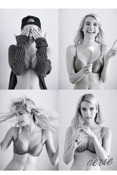 Why Emma Roberts Went Photoshop-Free For Aerie #refinery29  http://www.refinery29.com/2015/08/90205/emma-roberts-aerie-real-campaign