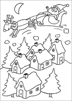 Desenhos para o natal para imprimir