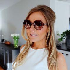 Steffie Docx - stylepoint.be   ronde zonnebril / round sunglasses - Valentino