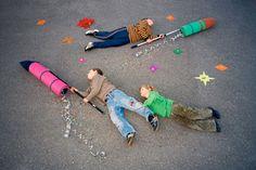Jan von Holleben | dreams of flying // kids photo
